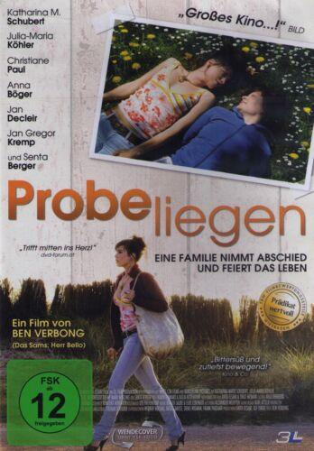 1 von 1 - DVD NEU/OVP - Probeliegen - Katharina M. Schubert & Julia-Maria Köhler