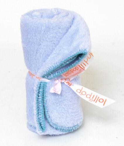 for Cot or Pram Blue Lollipop Super Softy Baby Blanket 100 x 80 cm