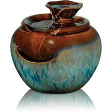 HoMedics EnviraScape Lily Ceramic Relaxation Fountain