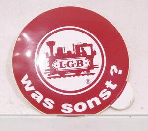 LGB Spur G Aufkleber LGB was sonst?  85mm Sticker HS2779 o.