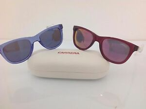 Carrera-occhiale-da-bambino-mod-20-blu-bianco-rosa-lente-specchio-blu-rosa-69