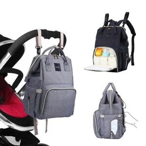 3a0b54471715 Details about Oxford Baby Diaper Nappy Bag Backpack for Mom Dad Organizer  Pouch & Changing Pad