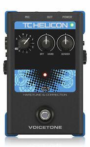 TC Helicon Voicetone C1 Tonhöhenkorrektur Effekt Stompbox Gesang Gitarre Tune