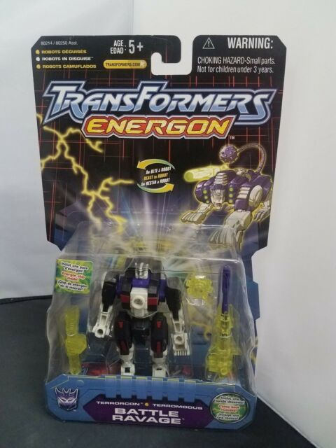Transformers Energon Battle Ravage front claws C9