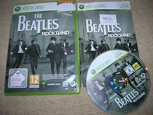 THE-BEATLES-ROCKBAND-Rare-XBOX-360-Game