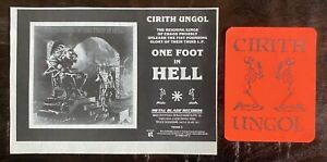 CIRITH-UNGOL-MAGAZINE-PRINT-AD-STICKER-Metal-Blade-Records