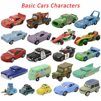 Mt Cars Basic Characters Mcqueen The King Chick Hicks Diecast Toy