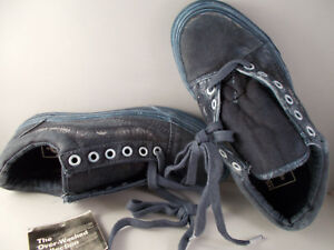VANS-Old-Skool-Reissue-Overwash-Paisley-Dress-Blues-Shoes-Mens-Sz-4-5-New-In-Box