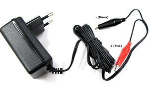 Enerpower Li-Ion Ladegerät 4S 14,4V 1,5A für LiFePo4 12V Krokodile