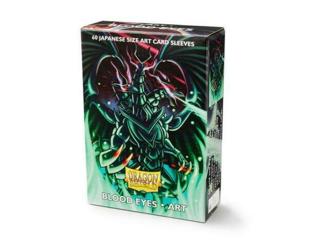 Dragon Shield Deck Protector Sleeves Japanese Size 60ct Art Blood Eyes YUGIOH