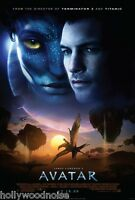 Avatar Original Movie Poster Final 2-sided Double Sided 27x40