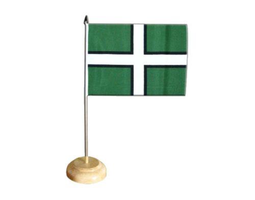 Tischflagge Großbritannien Devon britische Tischfahne 15x22cm
