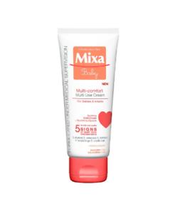 Mixa-Baby-Face-amp-Body-Cream-Surgras-Moisturiser-Sensitive-Skin-Cold-Cream-100ml