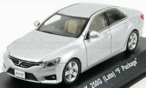 KYOSHO 1/43 TOYOTA | MARK X 250G (LATE) F PACKAGE 2004 | SILVER