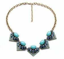 Stella Style Crystal Rory Statement Necklace Dot J Chain Crew Best Gift AAA