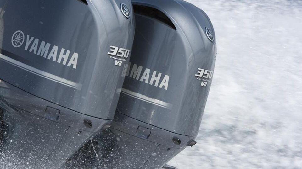 påhængsmotor Yamaha, hk 350, benzin