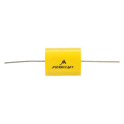 JB Capacitors JFGA 4700pF 10/% 630V Axial Metallized Polyester Capacitor
