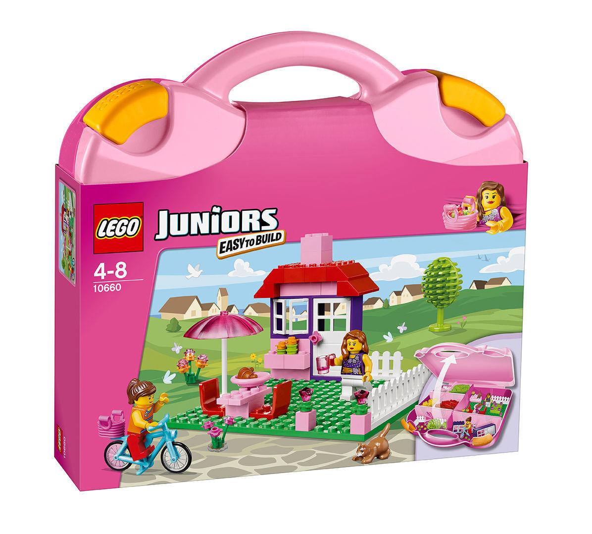 LEGO Steine & Co Rosafarbener  Koffer (10660)