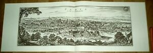 Paris-alte-Ansicht-Merian-Druck-Stich-1650-schw-Stadt-Reproduction-alt-France