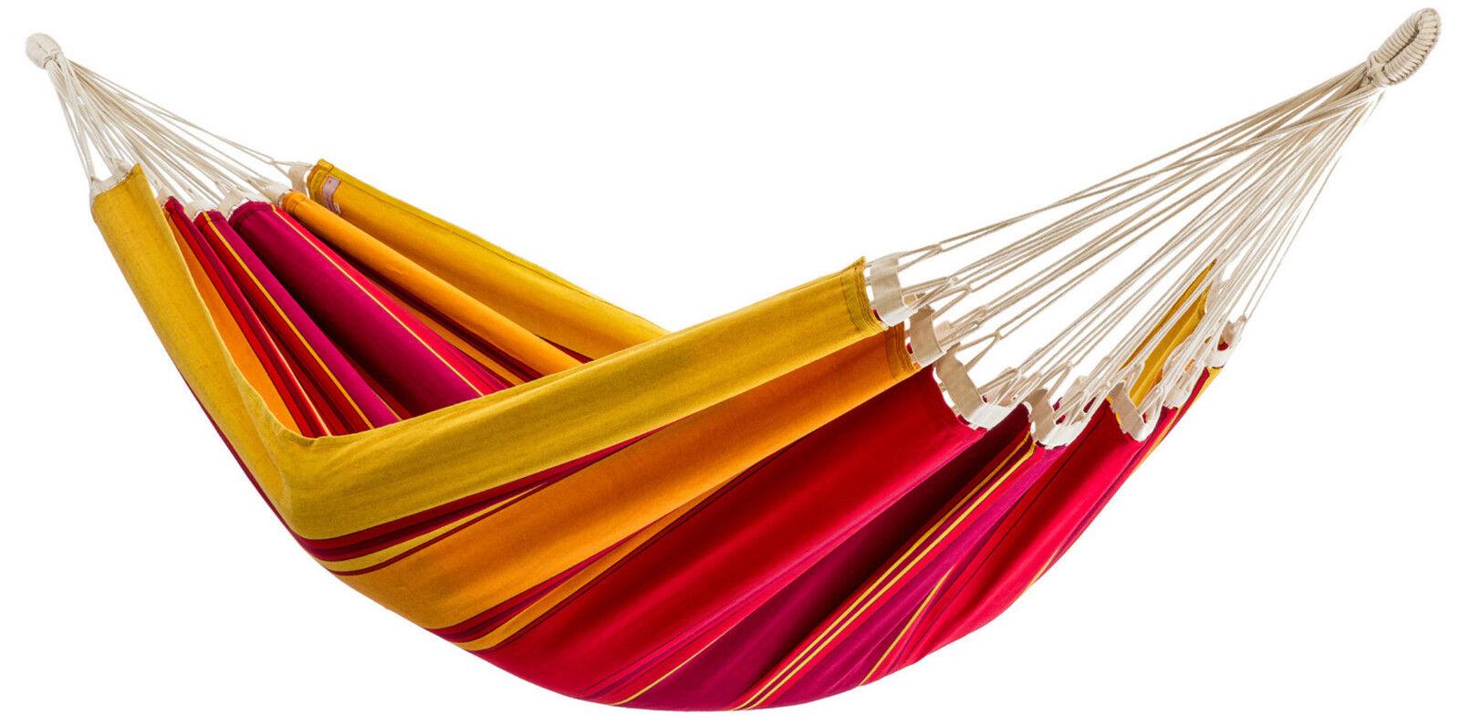 Bio-Baumwolle Hängematte Beleza rubin GOTS - zertifiziert Fair Trade