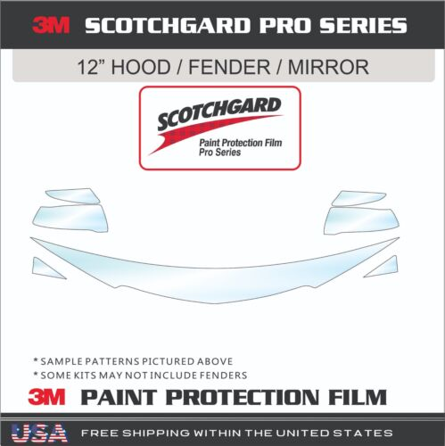 3M Scotchgard Pro Series Paint Protection Film Fits 15-18 Chevrolet Colorado