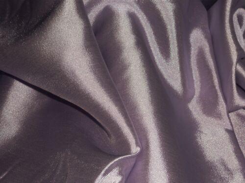 LIGHTWEIGHTT TWILL  SATIN DUSKY LILAC DRESS//BRIDAL FABRIC-FREE P/&P