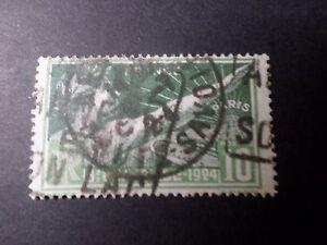 FRANCE-1924-timbre-183-SPORT-JEUX-OLYMPIQUES-DE-PARIS-oblitere
