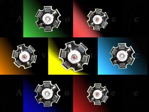 3W High Power LED auf Starplatine- weiß, alle Farben, Infrarot, UV -Mengenrabatt