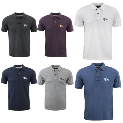Mens Polo Shirt by Tokyo Laundry Collared T Shirt Casual Tee Short Sleeve S-XXL
