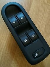RENAULT MEGANE 2003-2008 ELECTRIC WINDOW SWITCH cabriolet /convertible Blue plug