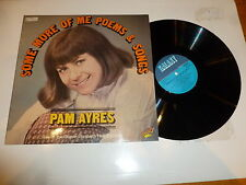 PAM AYRES - Some More Of Me Poems & Songs - 1976 UK 13-track vinyl LP