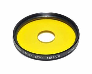 Centre-Spot-Yellow-Filter-55mm-thread-Made-in-Japan