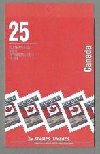 CANADA 1994 Booklet - FLAG Over (Leigh-Mardon) - 25 x 43c.  Complete - MNH