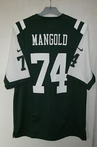Details about New York Jets Football NFL Jersey Nike size S #74 Nick Mangold