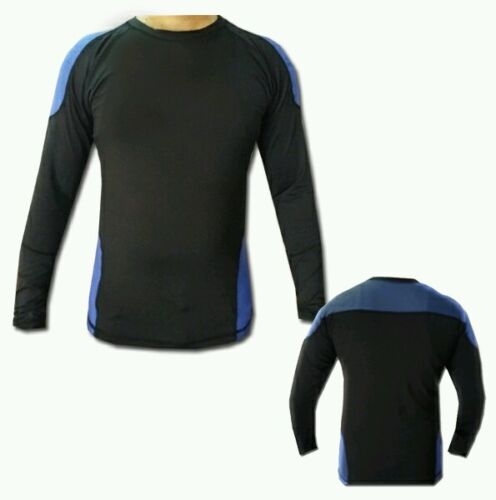 MMA Rash Guards Long Sleeves Compression Base Layer Sweat Fight Shirts All Size