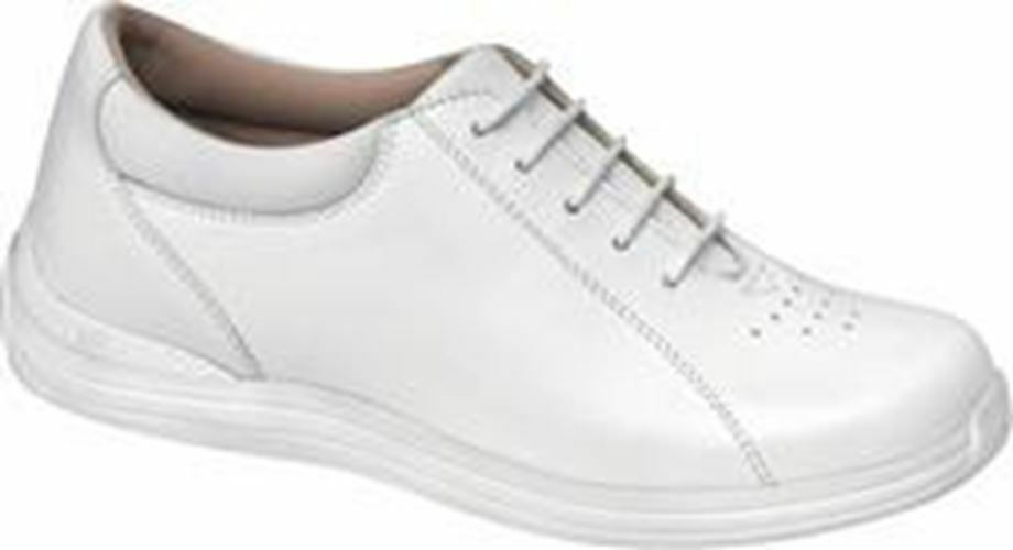 Drew Women's Tulip Comfort Shoes White Leather
