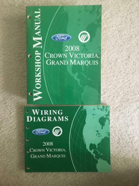2008 Ford Crown Victoria Grand Marquis Workshop Manual
