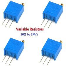 3296 Precision Multiturn Variable Resistors Potentiometer Preset Trimmer Pot