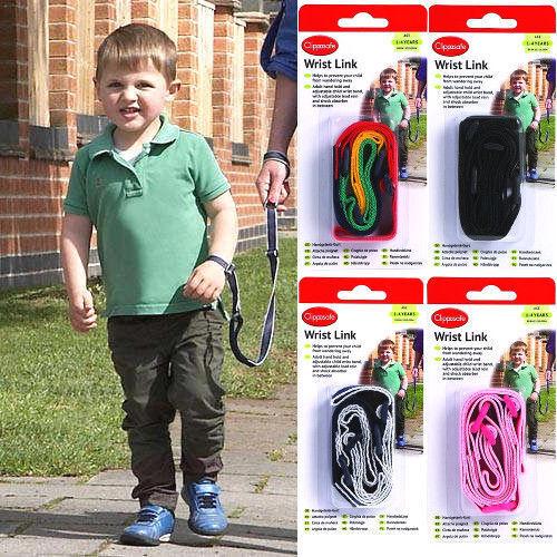 Clippasafe Bracelet Bride Sangle enfant lien Toddler plomb Walk Chaîne Sécurité 1-4 ans