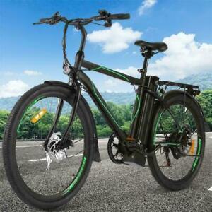 "250W 26"" Electric Bike Mountain Bicycle City E-bike 48V 10Ah Li-Battery Bike*"