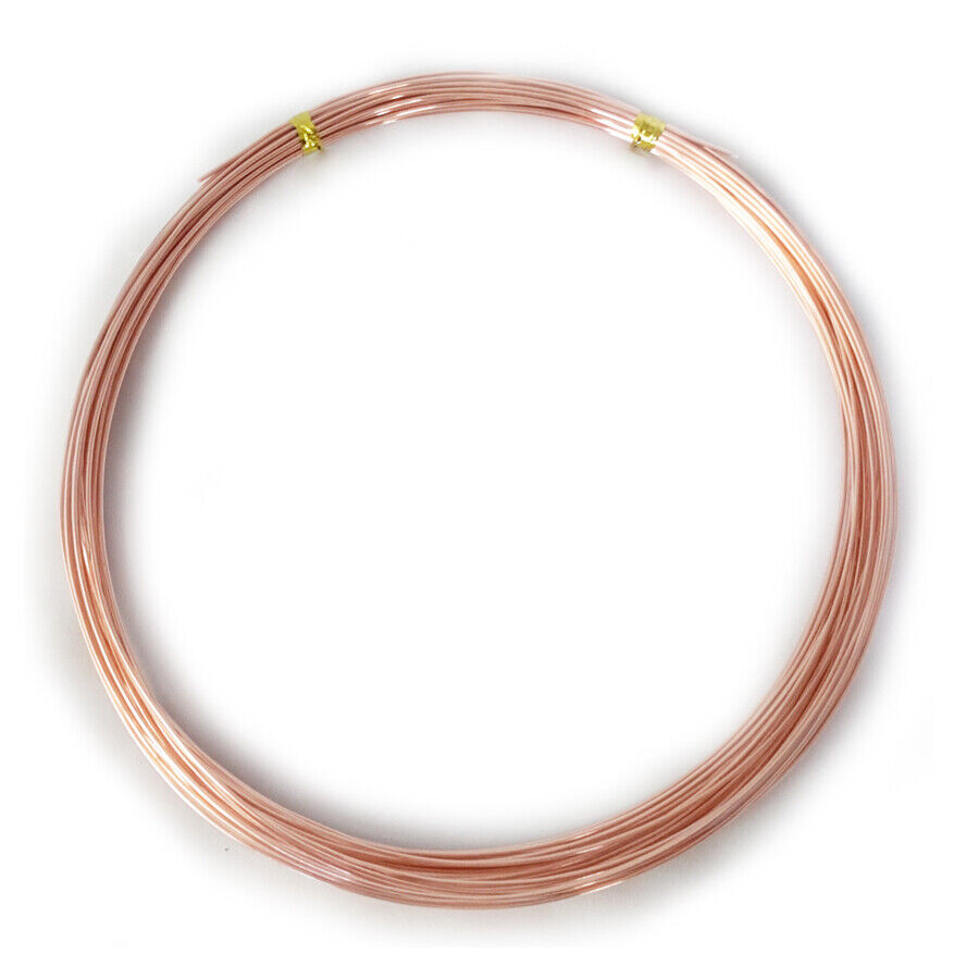 Beadalon Alambre estilo alemán ® práctica Kit calibre 21//Color cobre 0.72mm 8m