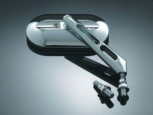 Kuryakyn 1411 Pair Mirror Adapters for Metric Cruiser 49-8169 0641-0118 1411