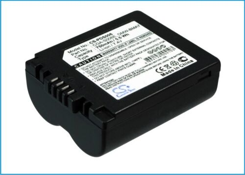 Premium Battery for Panasonic DMW-BMA7 Lumix DMC-FZ7EF-K CGR-S00 CGR-S006E//1B