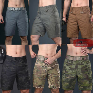 Men-039-s-Army-Military-Tactical-Shorts-Combat-Cargo-Short-Pants-City-Casual-Outdoor