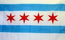 City of Chicago 4 Stars 3x5 Novelty Flag Banner
