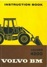 VOLVO BM 4200 WHEEL LOADER OPERATORS MANUAL