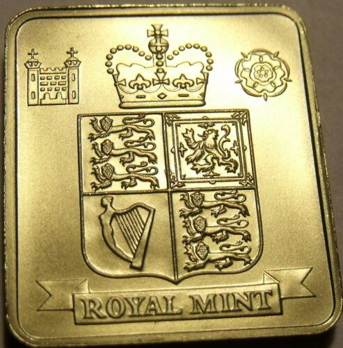 Great Britain 1999 Proof Set Medallion~Excellent~Free Shipping
