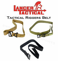 Lancer Tactical Airsoft - Riggers Belt - Choose An Available Color And Size