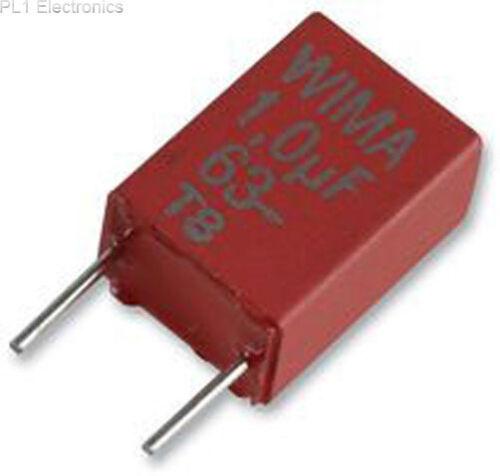 100v Precio Para: 10 Wima-mks2d031001a00jssd-Capacitor 0,1 uf 5/%