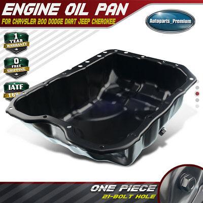 Engine Oil Pan For Chrysler 200 Dodge Dart 2013-2015 Jeep Cherokee 14-15 2.4L